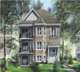House Plan #157-1022