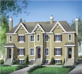 House Plan #157-1025