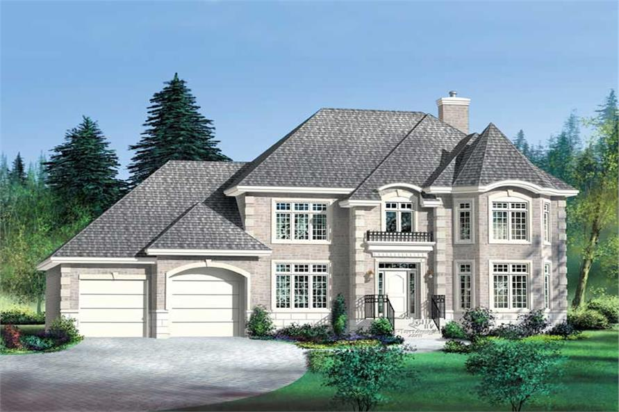 Main image for house plan # 12258