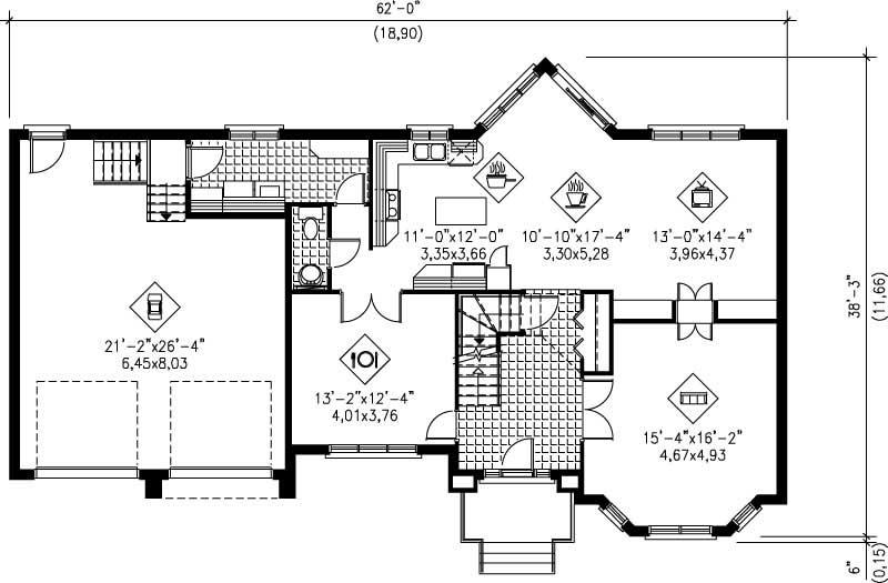 Multi Level House Plans Home Design Pi 20880 12258