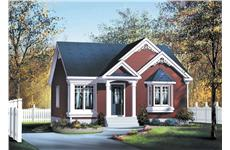 Main image for house plan # 12657