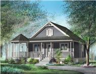 Main image for house plan # 12656