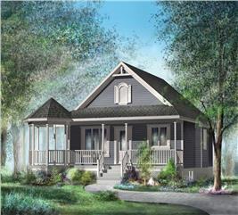 House Plan #157-1048