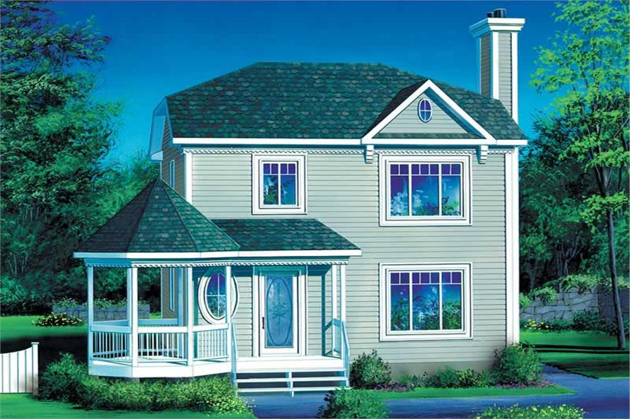 Main image for house plan # 12555