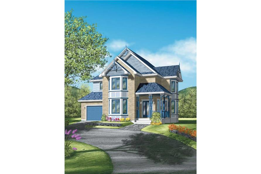 Main image for house plan # 12343