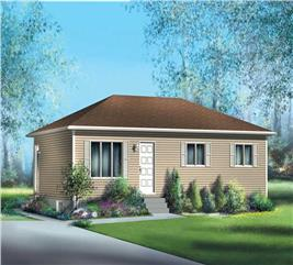 House Plan #157-1055