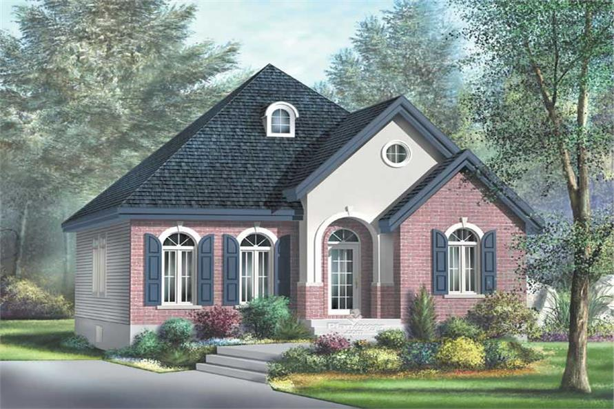 Main image for house plan # 12669