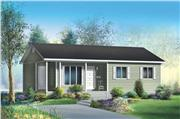 View house Plan#157-1069