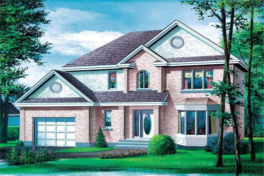 Main image for house plan # 12566