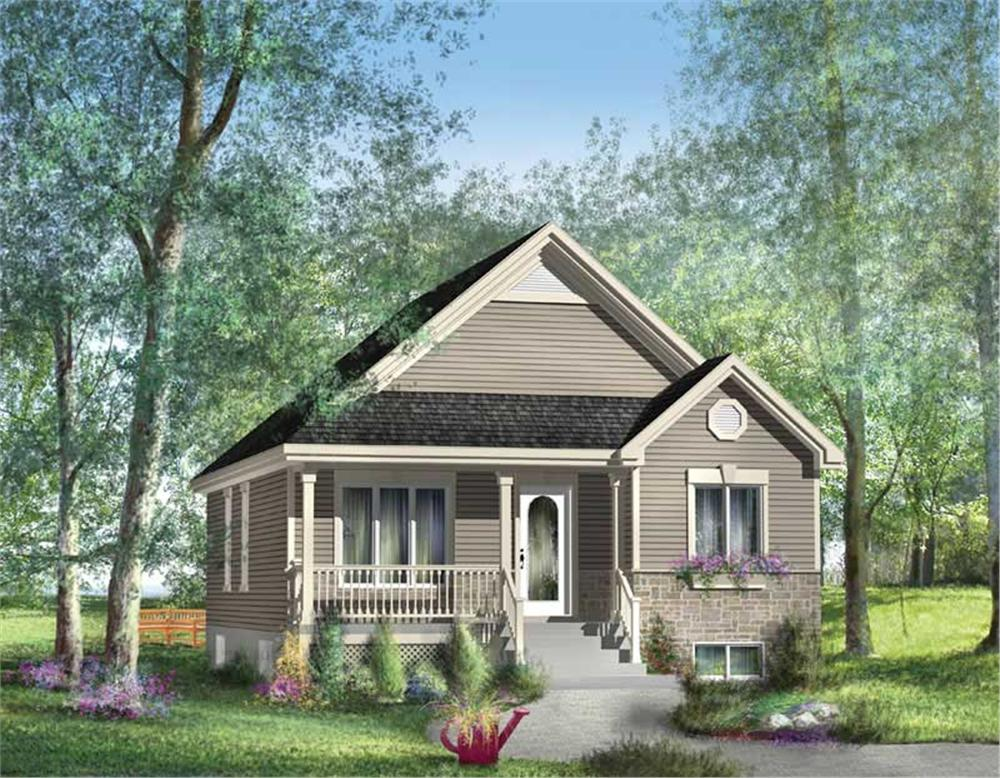 Main image for house plan # 12676