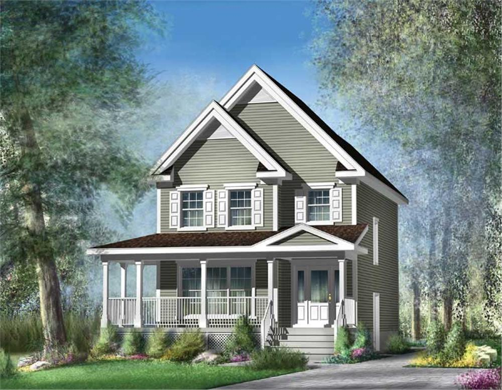 Main image for house plan # 12921
