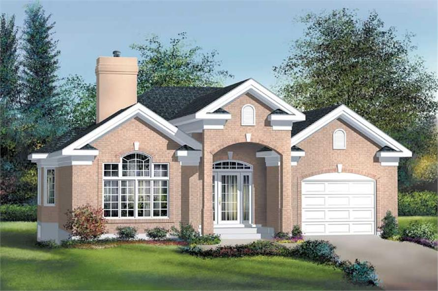 Main image for house plan # 12687