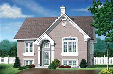 2-Bedroom, 1182 Sq Ft Bungalow Home Plan - 157-1094 - Main Exterior