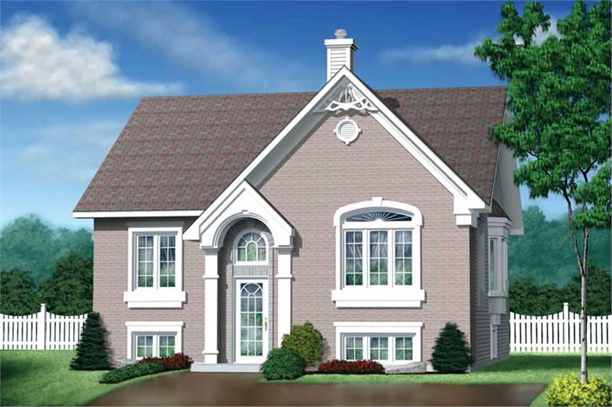 Main image for house plan # 12647