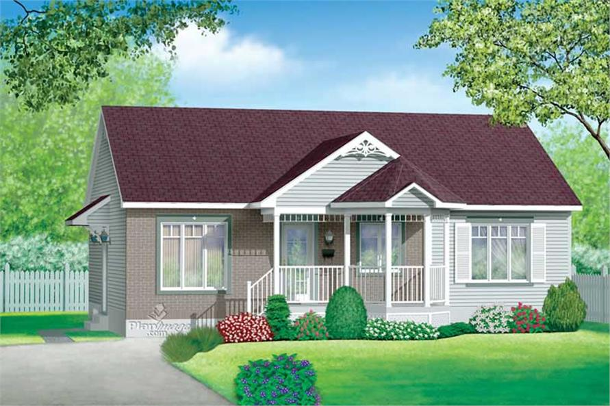 Main image for house plan # 12641