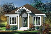 View house Plan#157-1099