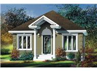 Main image for house plan # 12772