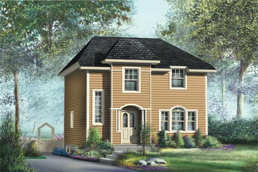 Main image for house plan # 12999