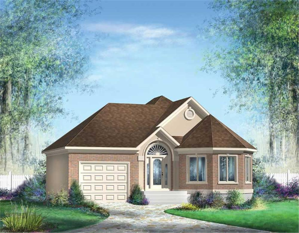 Main image for house plan # 12649