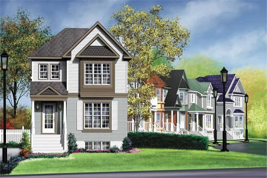 Main image for house plan # 12973
