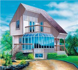 House Plan #157-1110