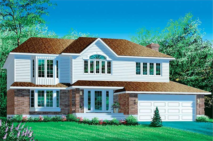 Main image for house plan # 12325