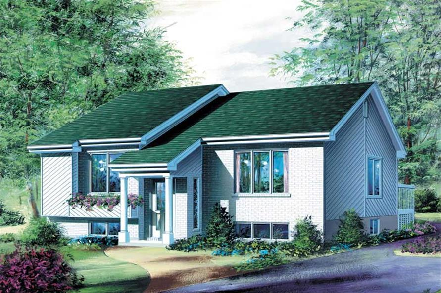 Main image for house plan # 12317
