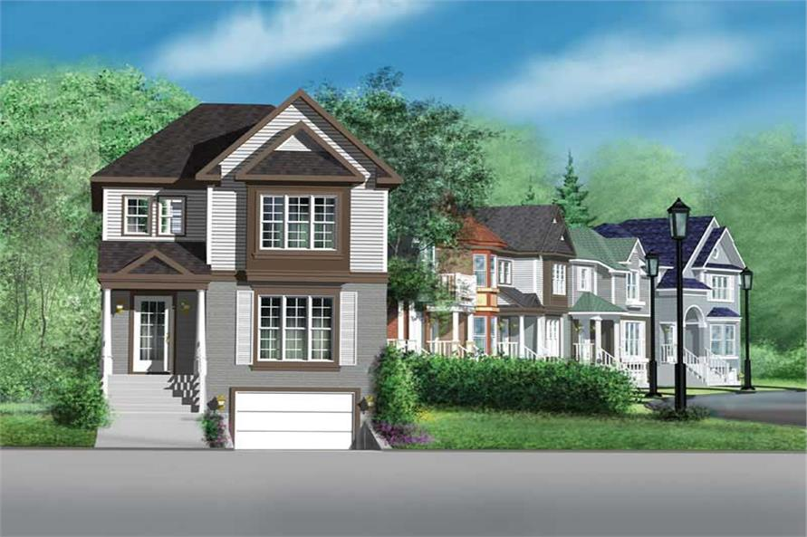 3-Bedroom, 1754 Sq Ft Ranch House Plan - 157-1115 - Front Exterior