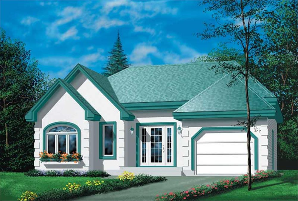 Main image for house plan # 12357