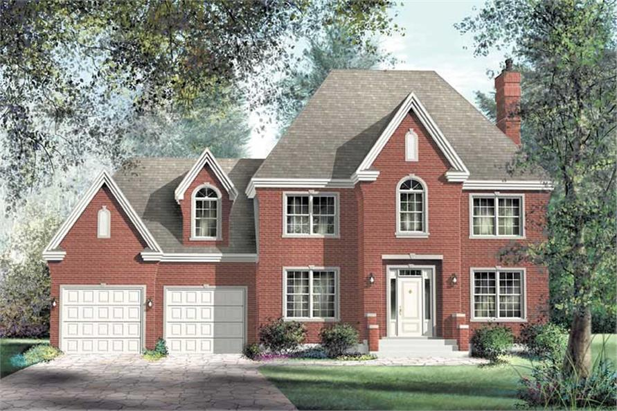 Main image for house plan # 12944