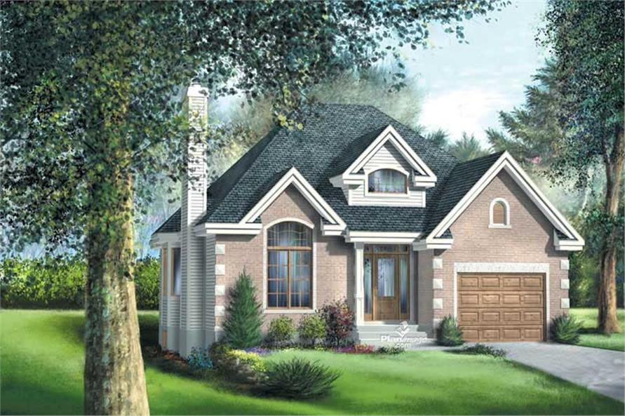 Main image for house plan # 12769