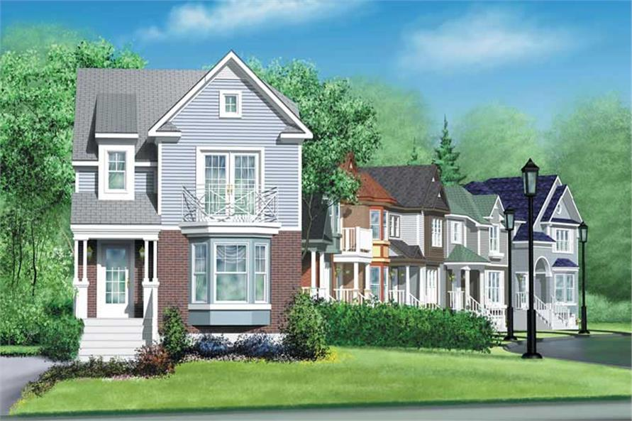 3-Bedroom, 1376 Sq Ft Ranch House Plan - 157-1126 - Front Exterior