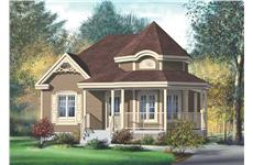 Main image for house plan # 12736