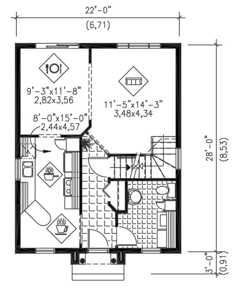 Multi level house plans home design pi 23803 13000 for Multi level floor plans