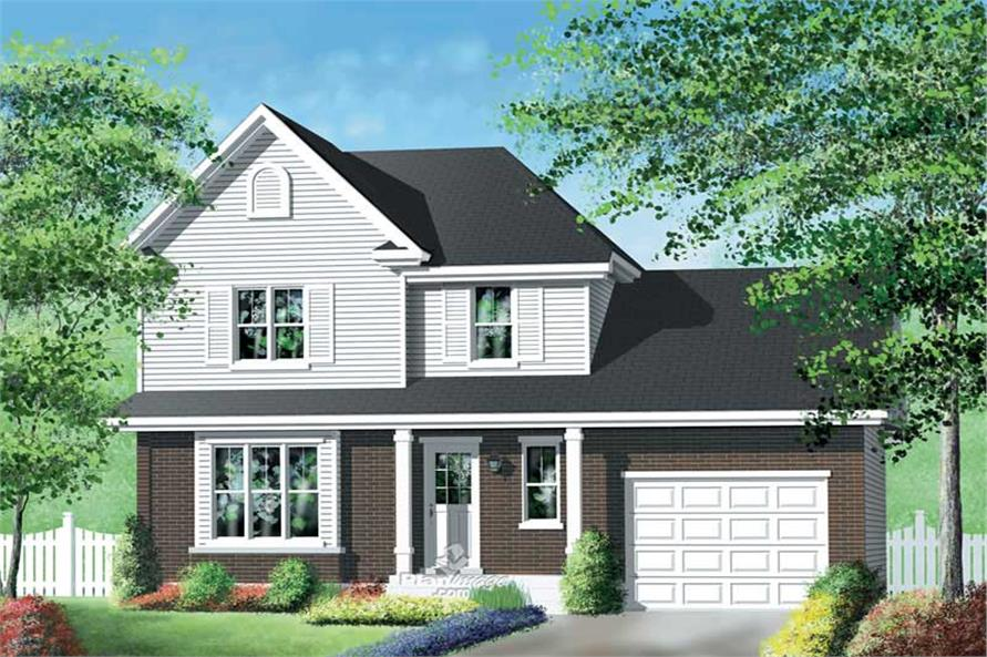 Main image for house plan # 12934
