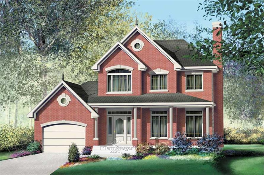 Main image for house plan # 12938