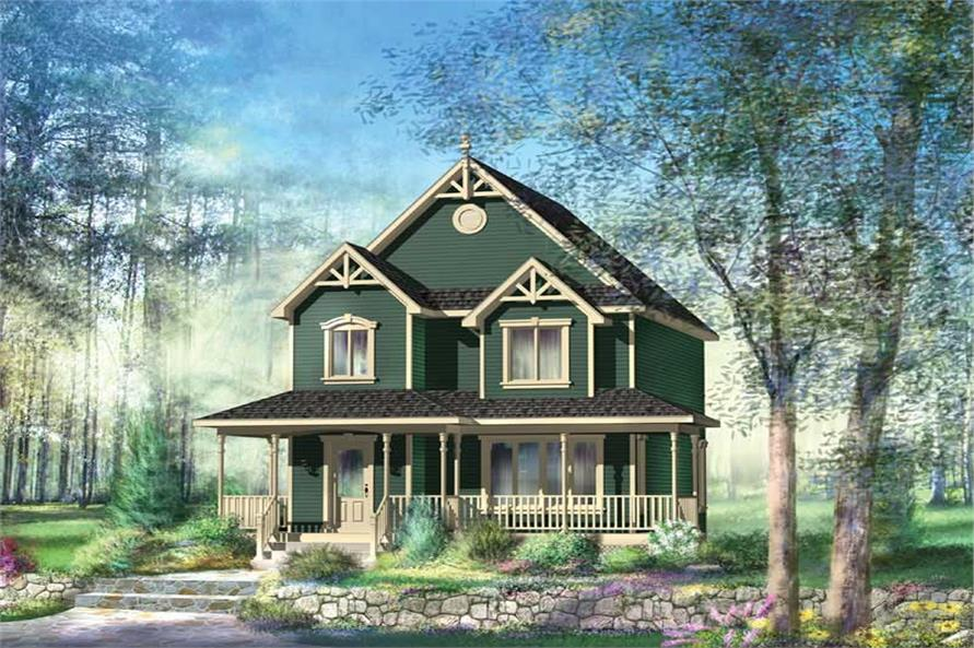 Main image for house plan # 12939