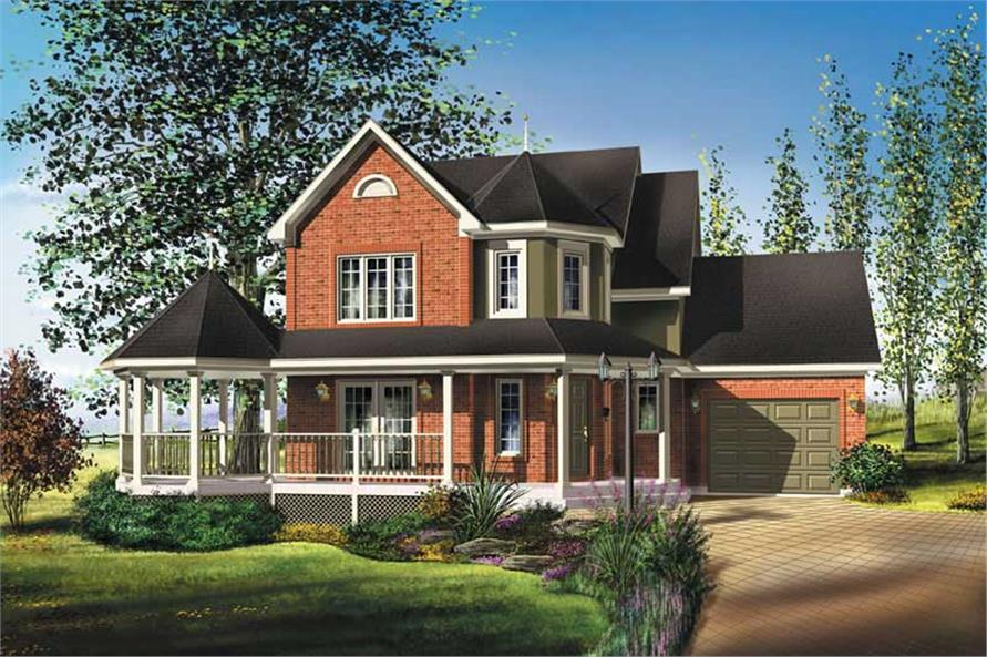Main image for house plan # 12943