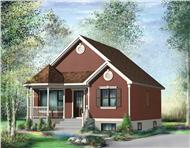 Main image for house plan # 12653
