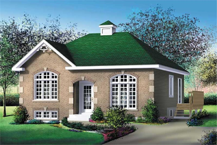 Main image for house plan # 12651