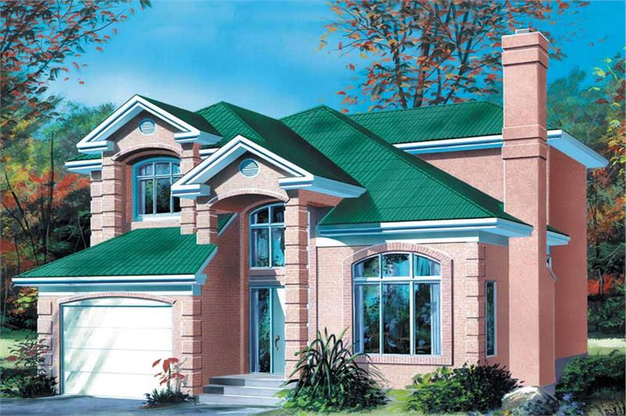 Main image for house plan # 12286