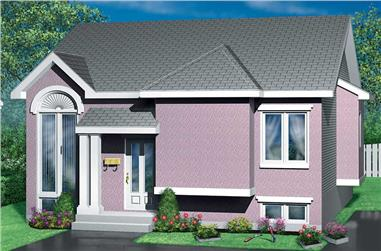 2-Bedroom, 1459 Sq Ft Bungalow House Plan - 157-1146 - Front Exterior