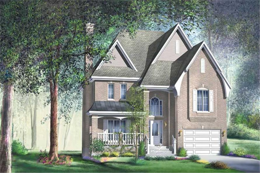 3-Bedroom, 2155 Sq Ft Multi-Level Home Plan - 157-1149 - Main Exterior