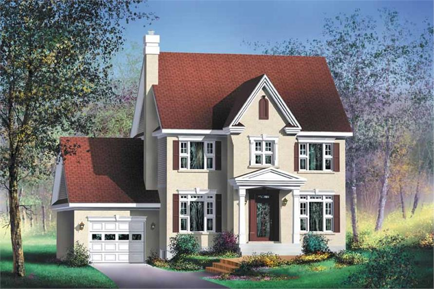Main image for house plan # 12900