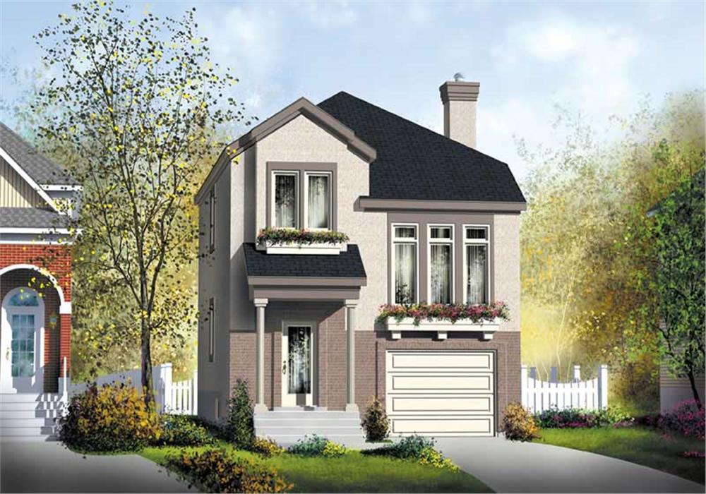 Main image for house plan # 12953