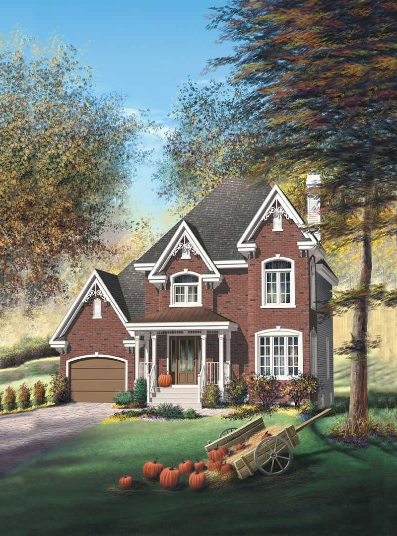 European Farmhouse House Plans Home Design Pi 20911 12965