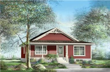 Main image for house plan # 13003
