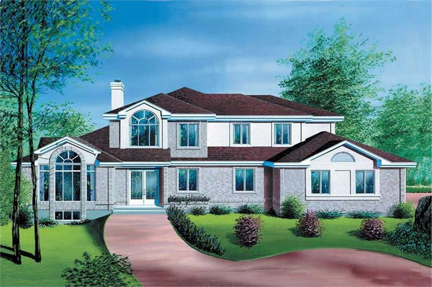 Main image for house plan # 12366