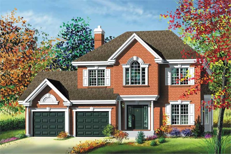 Main image for house plan # 12958