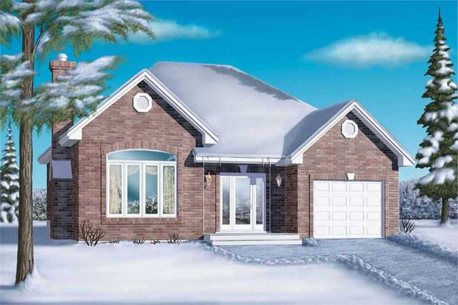 Main image for house plan # 12368